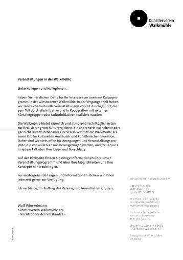 zum Download - künstlerverein walkmühle wiesbaden