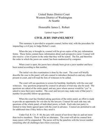 Standard Dc Civil Jury Instructions District Of Columbia