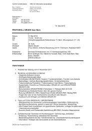 Protokoll 01 / 2012 - Bau-, Verkehrs - Kanton Bern