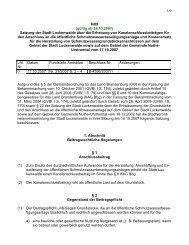 Satzung der Stadt Luckenwalde über die Erhebung von ...