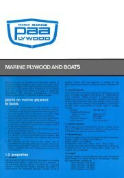 marine plywood and boats - Engineered Wood Products Association ...