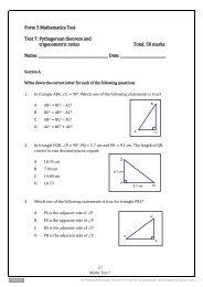 Test 6 - Pearson