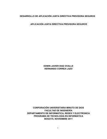 desarrollo de aplicación junta directiva previsora seguros aplicación ...