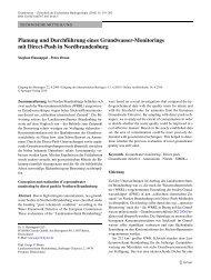 Planung und Durchführung eines Grundwasser ... - Springer