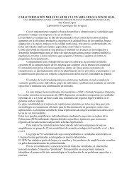 Caracterización molecular de cultivares de soja mediante ...