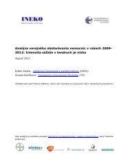 Analýza verejného obstarávania nemocníc v rokoch 2009- 2012 ...