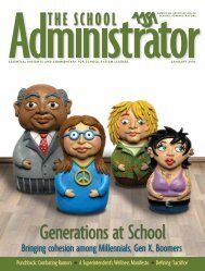 Generations at School - American Association of School ...