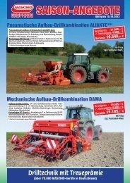SAISON-ANGEBOTE - Maschio Deutschland GmbH