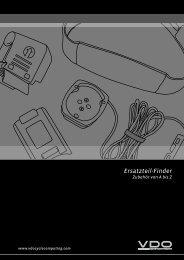 Ersatzteil-Finder - VDO