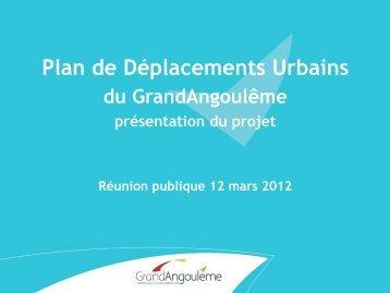 Plan de Déplacements Urbains (PDU) - Angoulême