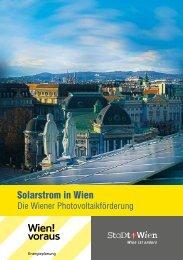 Photovoltaik - Wien