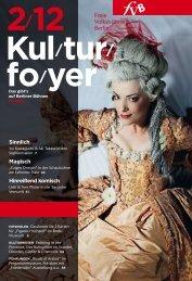 Kulturfoyer 02/2012 - Freie Volksbühne Berlin