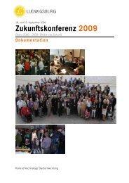 Arbeitsgruppen der Zukunftskonferenz 2009 - Stadt Ludwigsburg