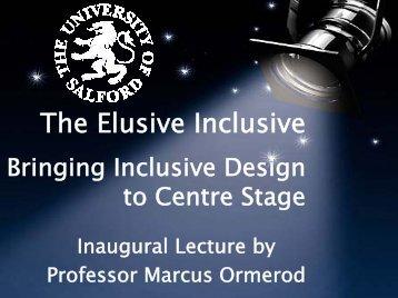 The Elusive Inclusive