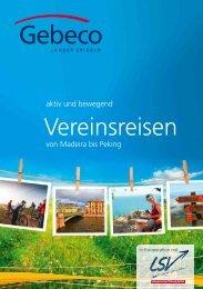 Vereinsreisen - Landessportverband Schleswig-Holstein