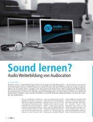 als PDF downloaden. - Audiocation Audio Akademie
