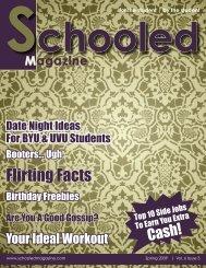 Flirting Facts - Schooled Magazine