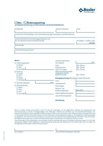 Vereinsheim-Gebäude-Versicherung - Gartenfreunde Bremen