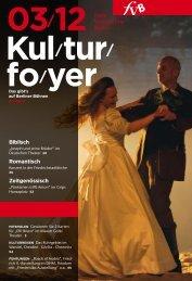 Kulturfoyer 03/2012 - Freie Volksbühne Berlin