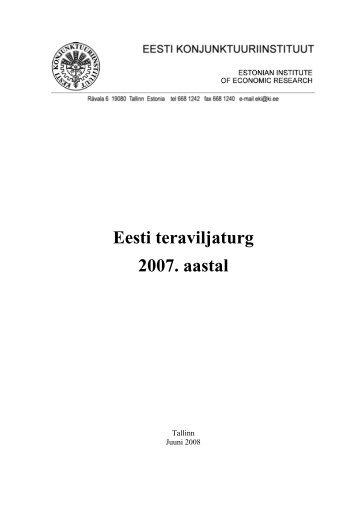 Eesti teraviljaturg 2007. aastal - Põllumajandusministeerium