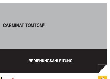 Leitfaden Carminat TomTom LIVE - Renault