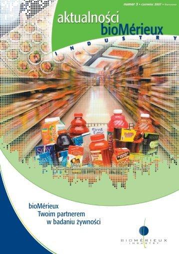 Aktualności bioMérieux Industry nr 3 plik do pobrania (format pdf)