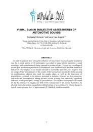 Visual bias in subjective assessments of automotive sounds - Delta