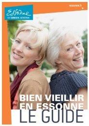 Bien Vieillir en Essonne - Conseil général de l'Essonne
