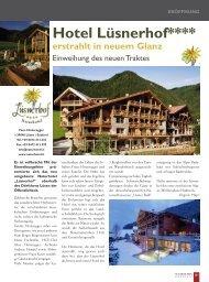 Hotel Lüsnerhof**** - und Wanderhotel in den Südtiroler Dolomiten