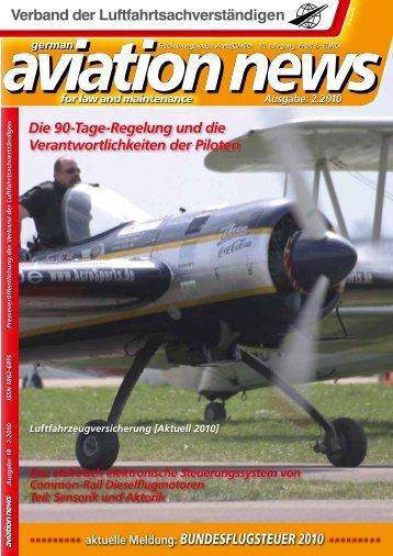 aviation news - Verband der Luftfahrtsachverständigen