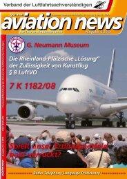 7 K 1182/08 - Verband der Luftfahrtsachverständigen