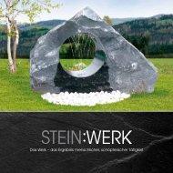Broschüre downloaden - Stein:Werk