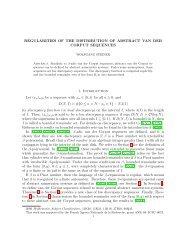 REGULARITIES OF THE DISTRIBUTION OF ABSTRACT VAN ... - liafa