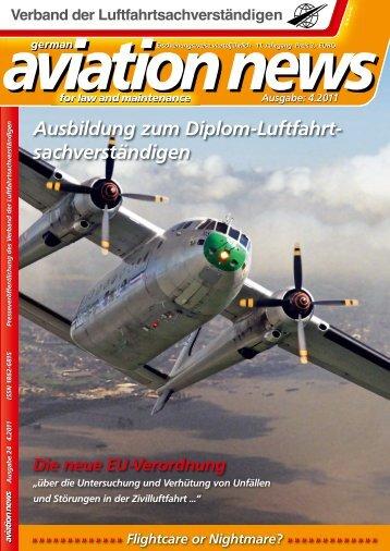Ausbildung zum Diplom-Luftfahrt - Verband der ...