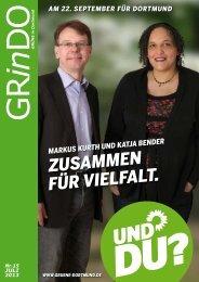 Download der GRinDO 15 als PDF - BÜNDNIS 90/DIE GRÜNEN ...