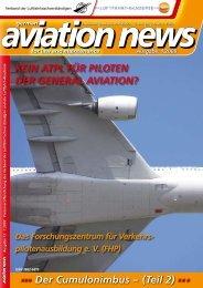 Der Cumulonimbus - Verband  der Luftfahrtsachverständigen