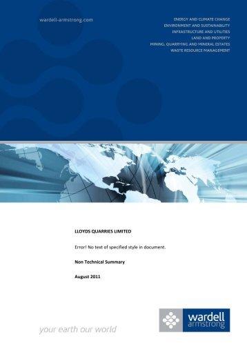 Non Technical Summary - IEMA