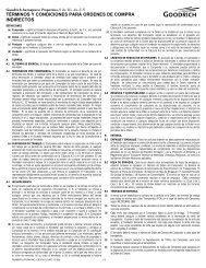 9374-0 Purchase Order General Terms and Conditions ... - Goodrich