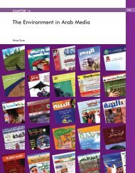 The Environment in Arab Media - Arab Forum for Environment and ...