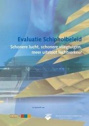 rapportage Tweede Kamer luchtkwaliteit Schiphol - Jos Lammers