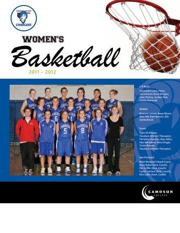 Women's Basketball - Camosun College