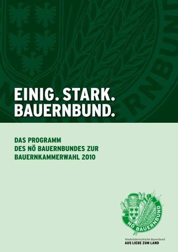 EINIG. STARK.