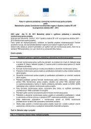 B 6c Metodický pokyn k vyplneniu monitorovacej správy - Fond ...