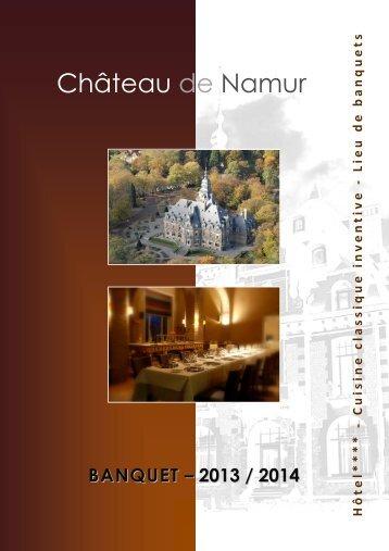 banquet - Le Château de Namur