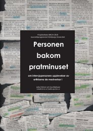 Personen bakom pratminuset - Göteborgs universitet