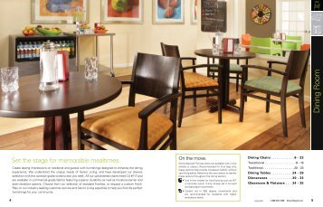 Gentil Dining Rooms   Direct Supply