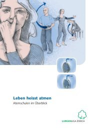 Leben heisst atmen - Lunge Zürich