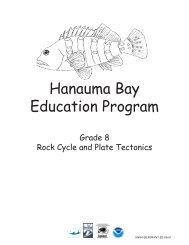 Lesson - Hanauma Bay Education Program