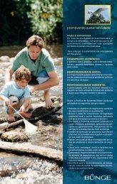 Folder de Sustentabilidade 2005 - Bunge