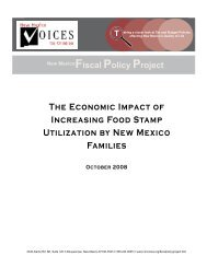 The Economic Impact of Increasing Food Stamp Utilization by New ...